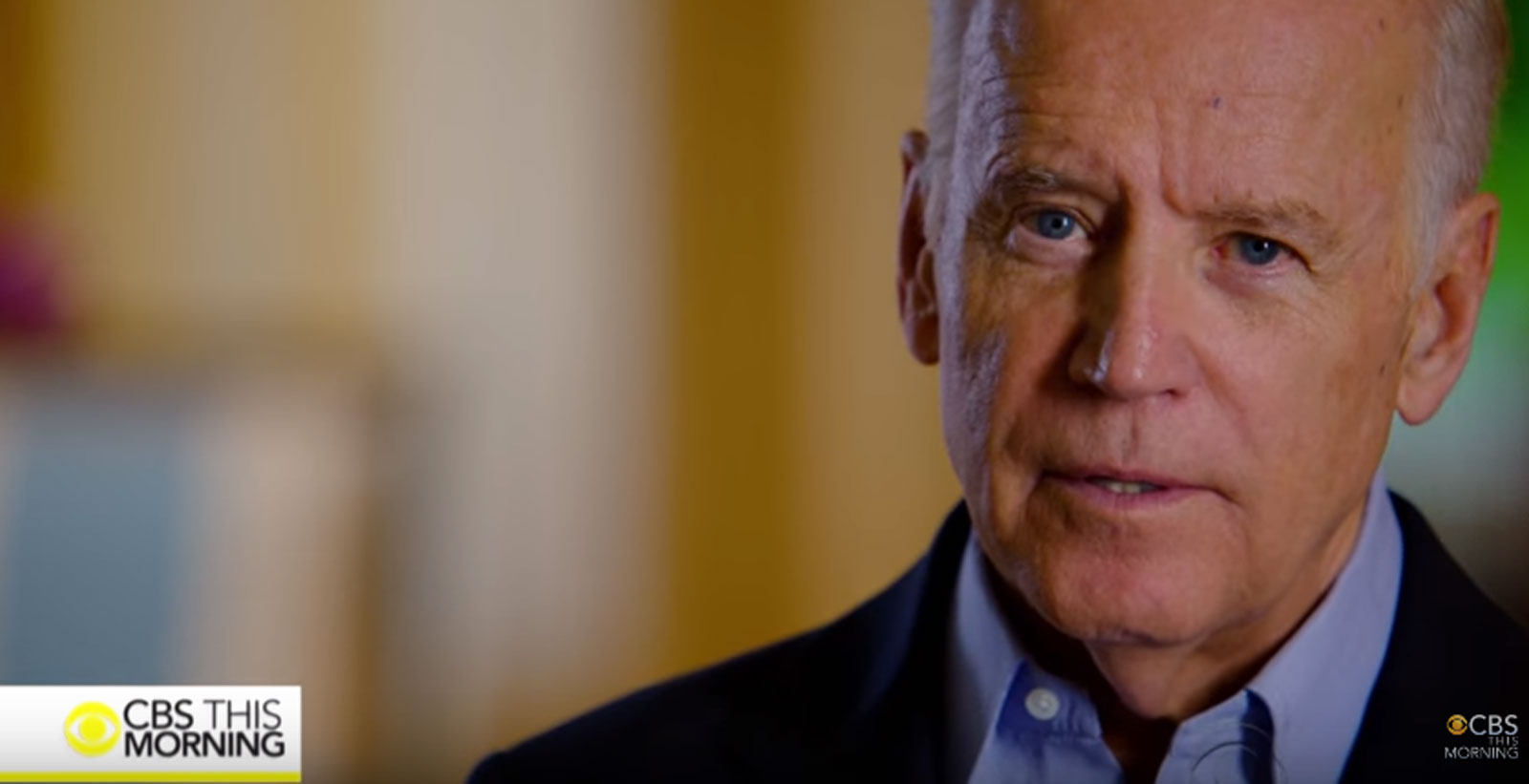 Biden's 'Note to Self': 'There is no quit in America' (Video)