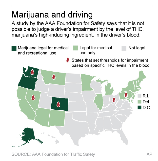 Scientific basis for laws on marijuana, driving questioned | WTOP