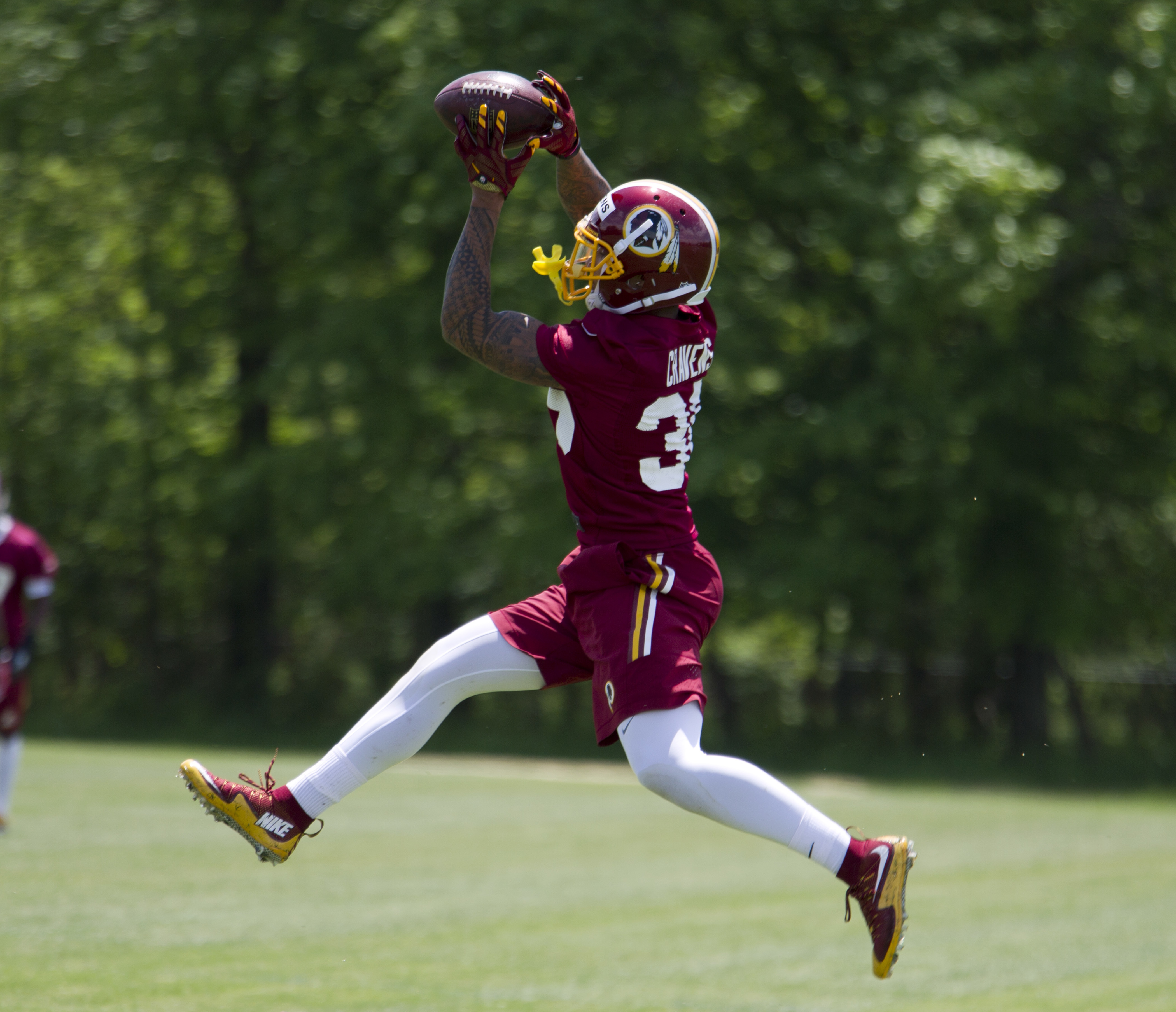 Redskins' Cravens claims racial profiling in Va. traffic stop