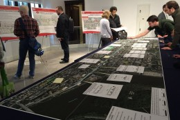 A public meeting was held May 17, 2016 on the plans to extend the District's streetcar from Union Station to Georgetown. (WTOP/Michelle Basch)