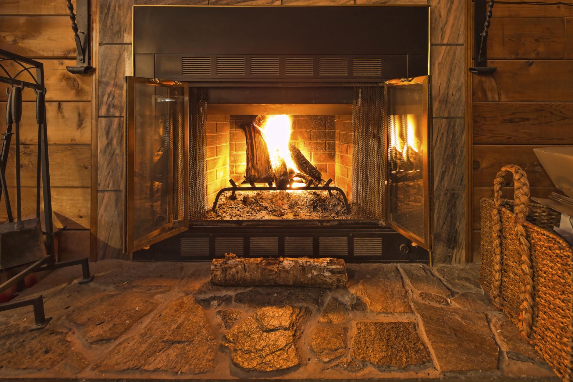 Warm Fireplace