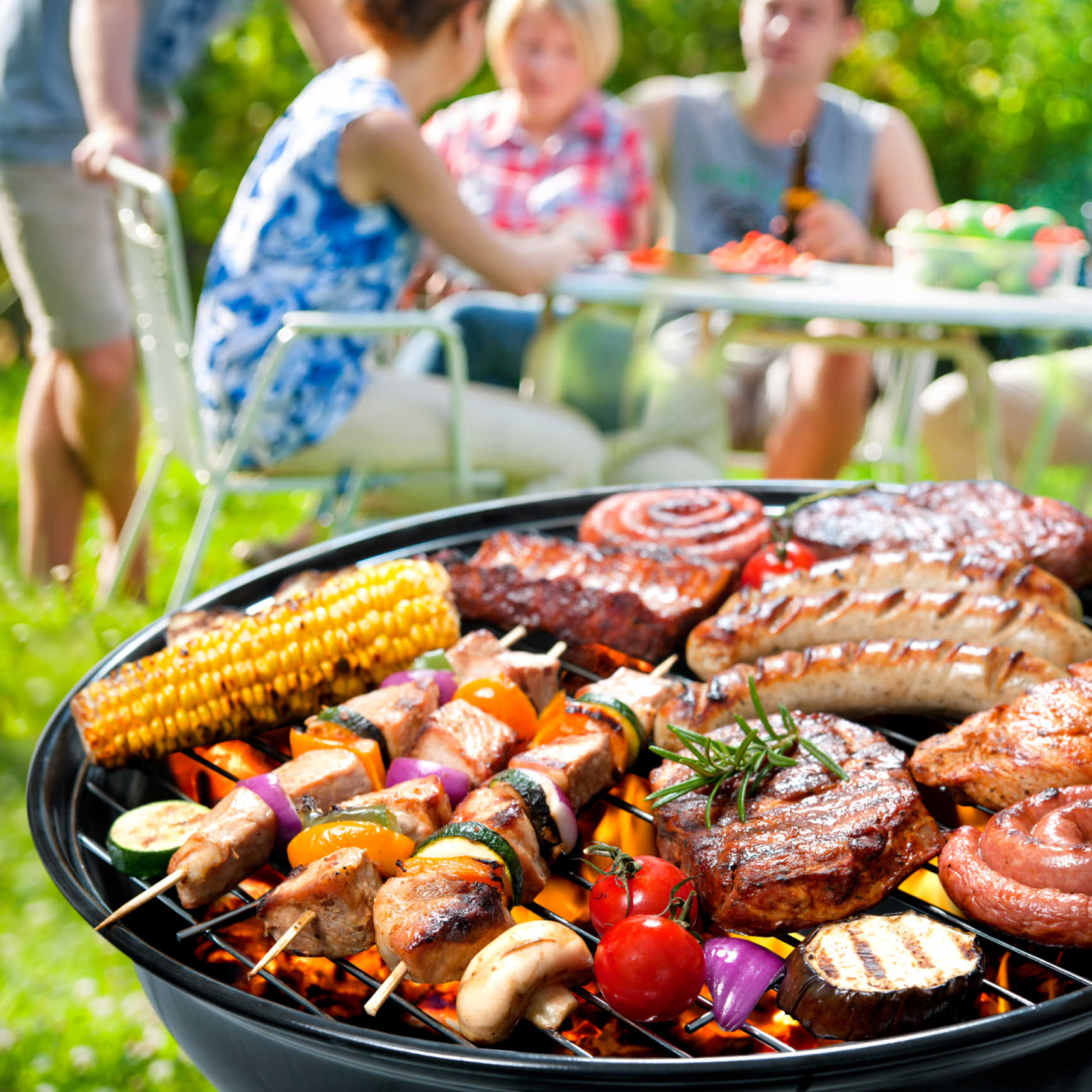 A barbecue doesn't have to bust your calorie count