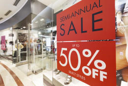 Consumers don't have to wait for Memorial Day weekend for sales, some are happening now. (Thinkstock)