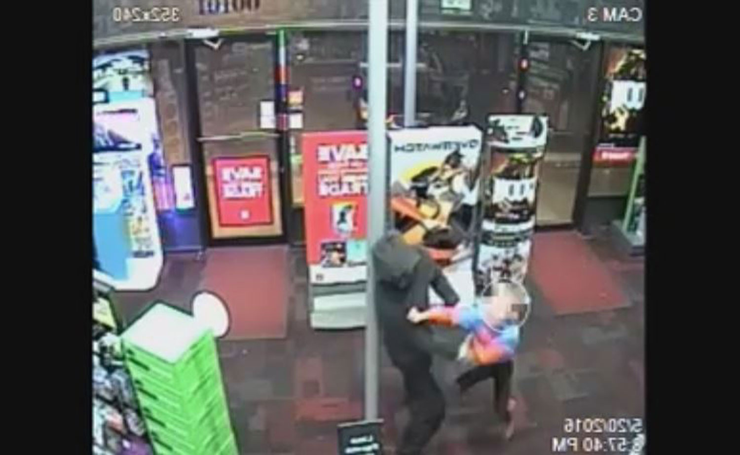 Young boy hits suspect during armed robbery in Montgomery Co. (Video)