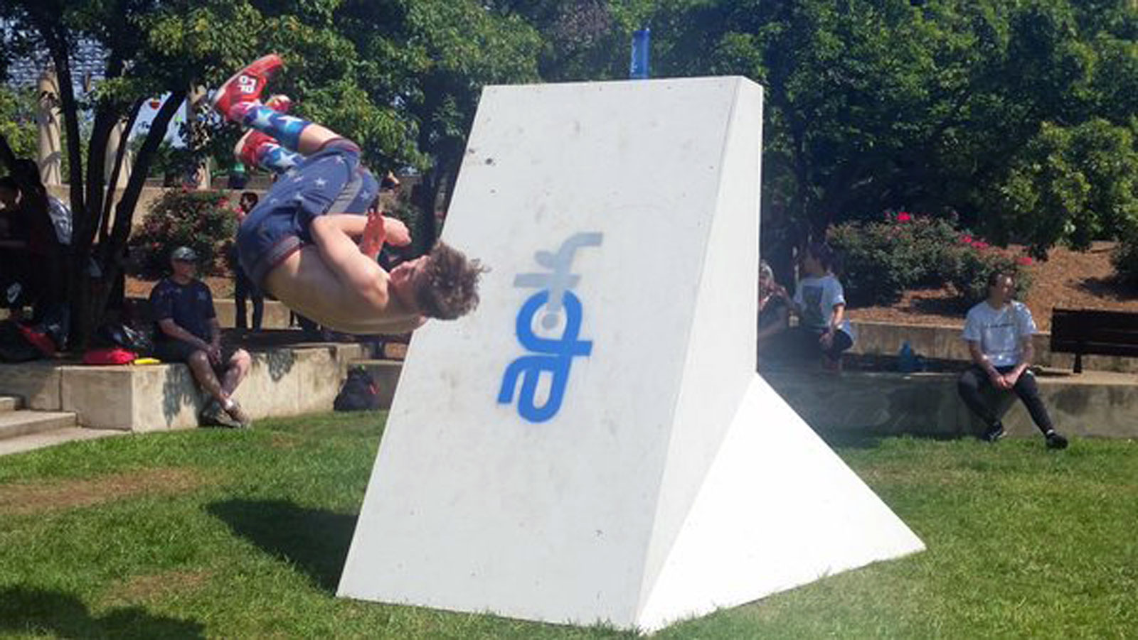 11th annual parkour festival takes over Rosslyn park