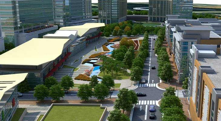 $1 billion development planned along Silver Line
