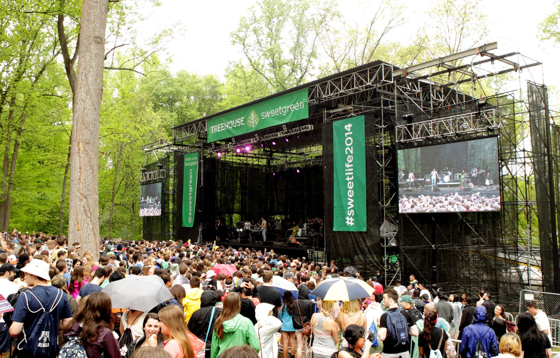 Don't smoke pot at Merriweather Post Pavilion in Columbia, Md. (Photo by Owen Sweeney/Invision/AP)