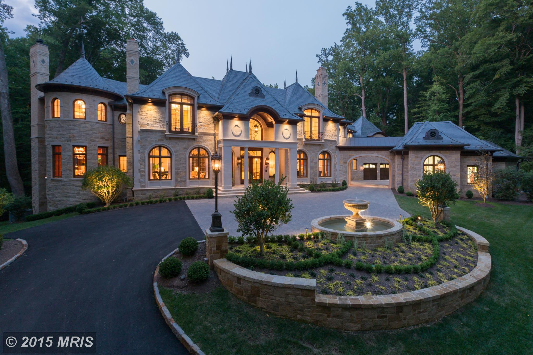 Most expensive homes for sale in dc region ranked a top for Castle mansions for sale