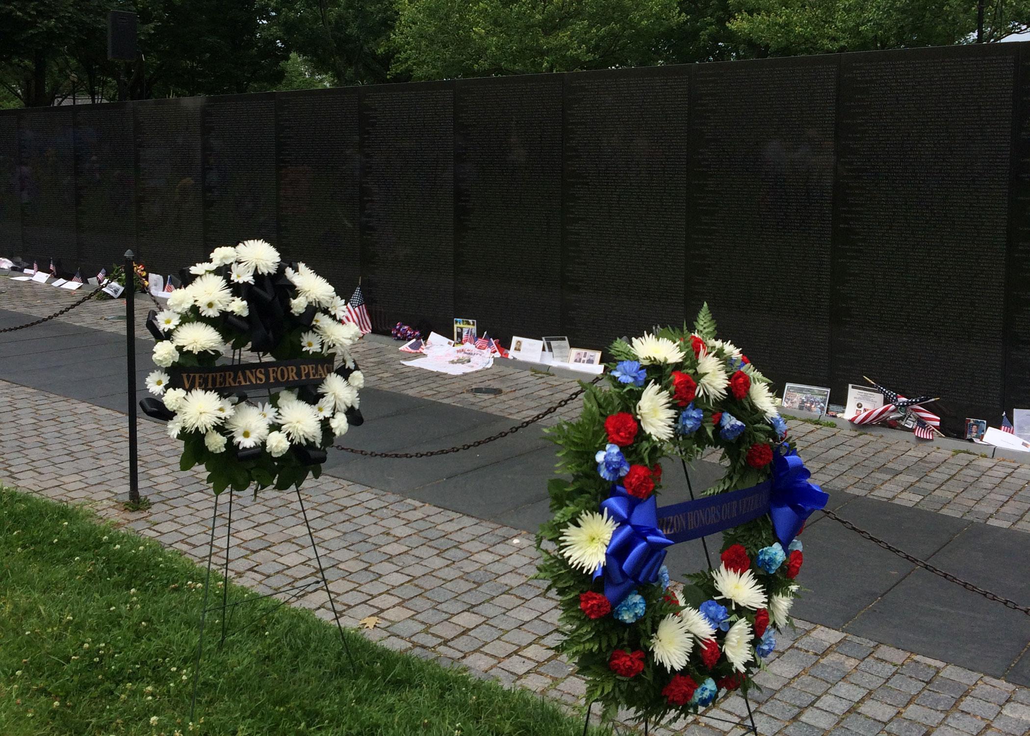 Vietnam War veterans honored in Memorial Day ceremony