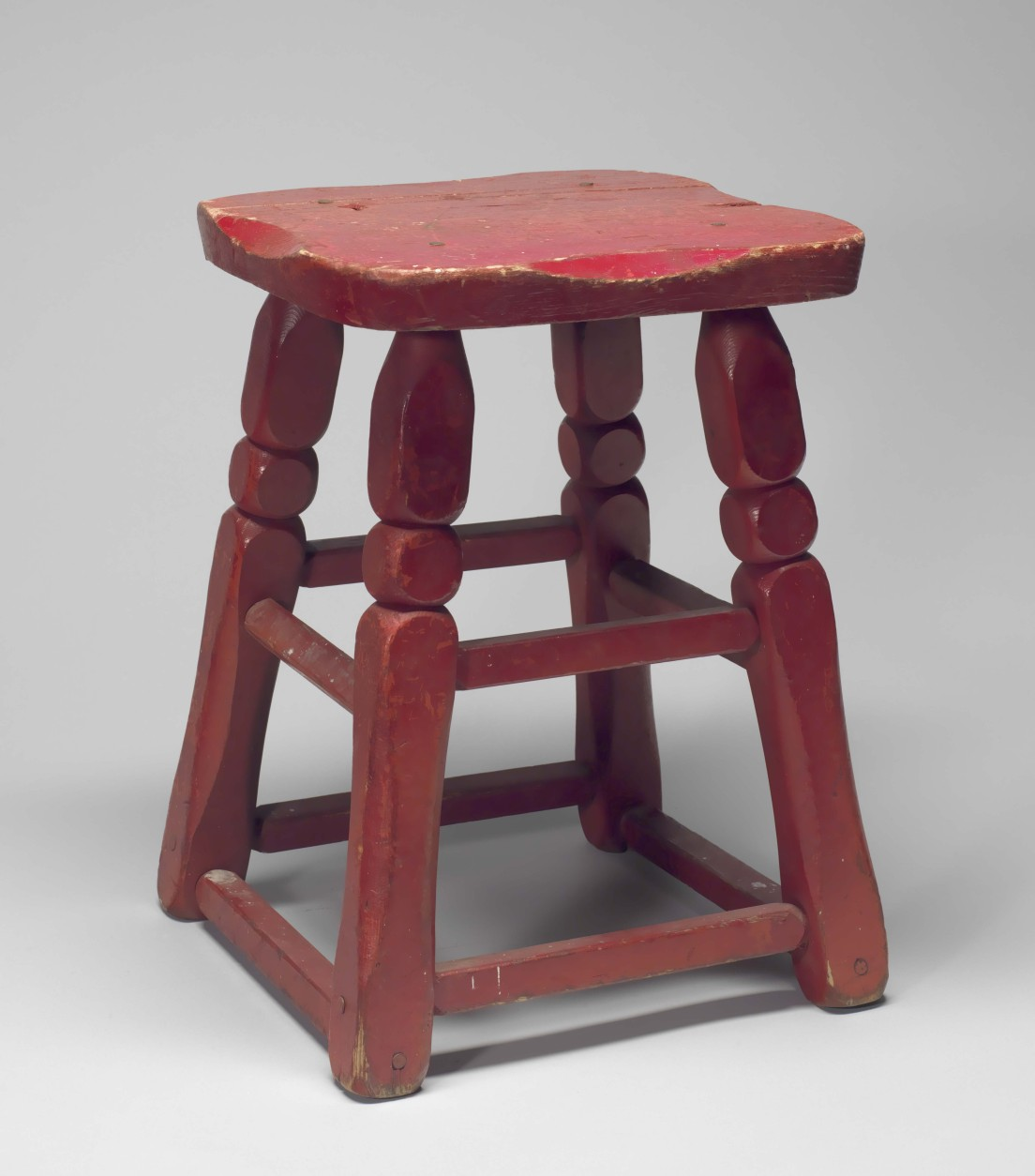 The corner stool from Dundee's 5th St. Gym, where Muhammad Ali trained. The stool is an item in the National Museum of American History and Culture's collection. (Courtesy Collection of the Smithsonian National Museum of African American History and Culture)