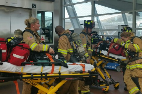 Metro conducts full-scale emergency drills on the Silver Line