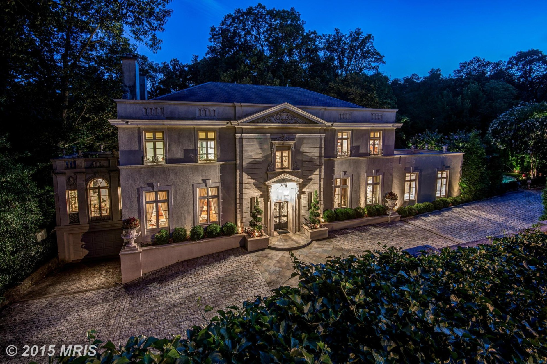 2850 Woodland Drive NW, Washington, D.C., bought by Secretary of Commerce Wilbur Ross, went for over $10 million. (MRIS)