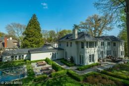 5. $11,500,000  5215 Edgemoor Lane, Bethesda, Maryland  (MRIS)