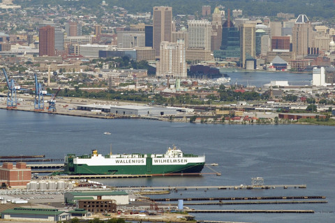 Agents seize record 333 pounds of cocaine at Baltimore port