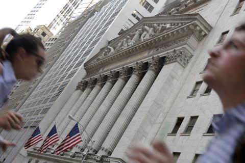 Stocks tumble at the open