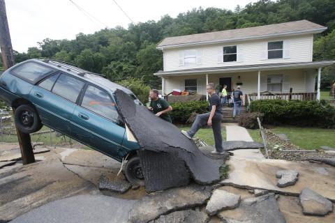 Photos: West Virginia flooding