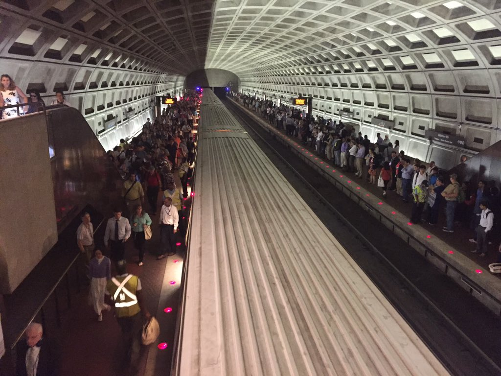 No major issues heading into second weeknight of Metro maintenance blitz