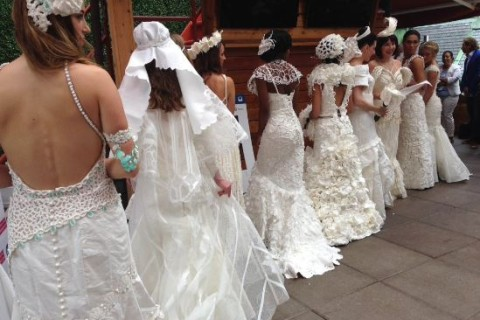 Charmin announces winner of Toilet Paper Wedding Dress competition