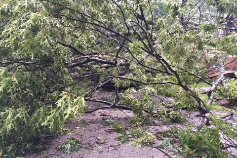 NWS confirms tornado touched down in Howard Co.