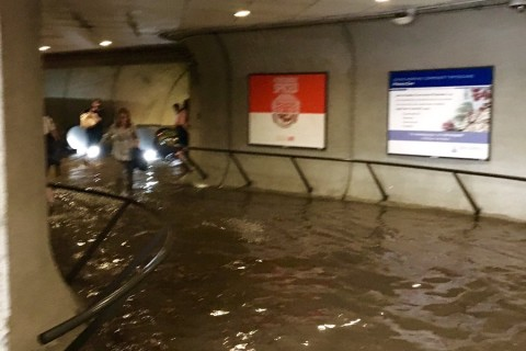 Metro: Cleveland Park station flooding unlike anything seen before
