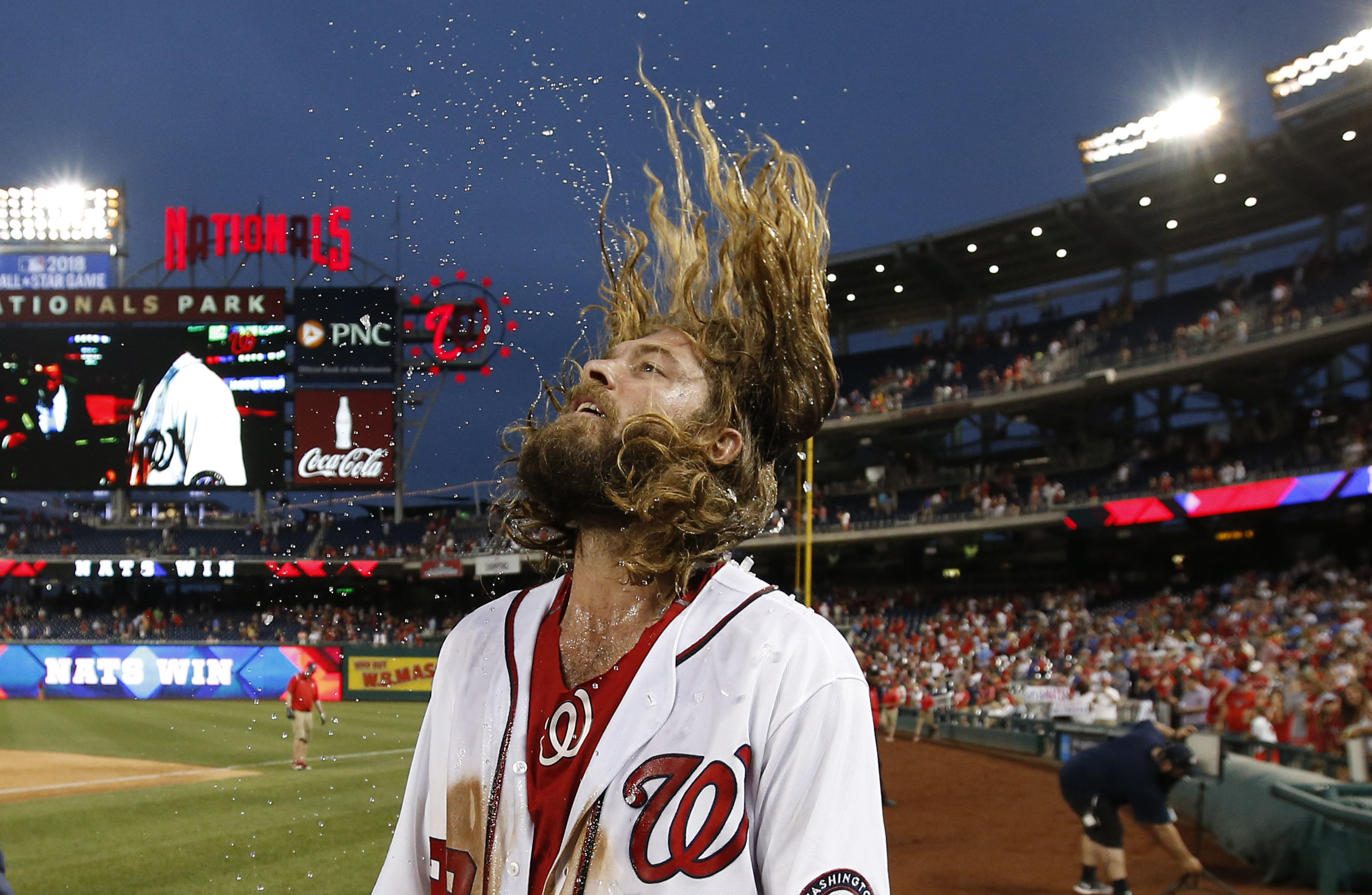 Nationals' Werth lets fly in celebratory postgame interview (Video)