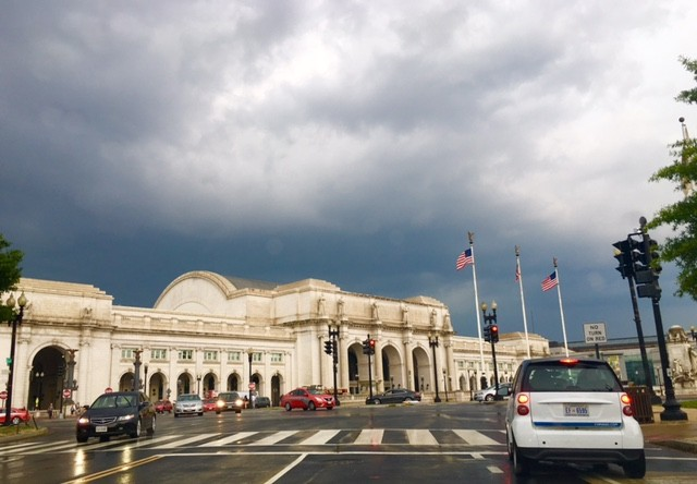 Dark skies over D.C. on June 21, 2016. (Courtesy David Schaefer)