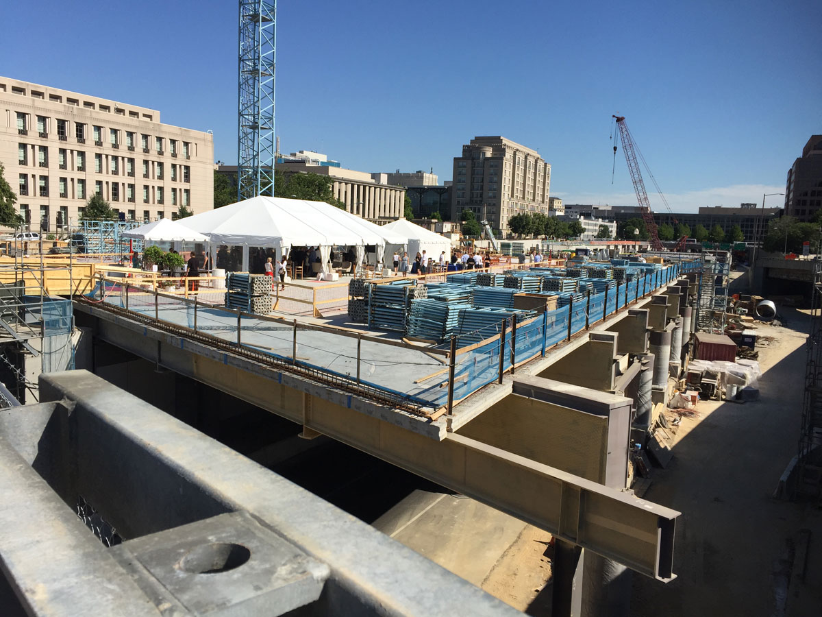 Capitol Crossing project reaches milestone (Photos)