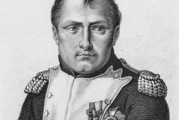 In 1815, British and Prussian troops defeated the French under Napoleon Bonaparte at Waterloo in Belgium. (Photo by Hulton Archive/Getty Images)