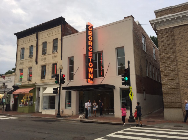 Former georgetown theater transformed into apartments for Georgetown movie theater