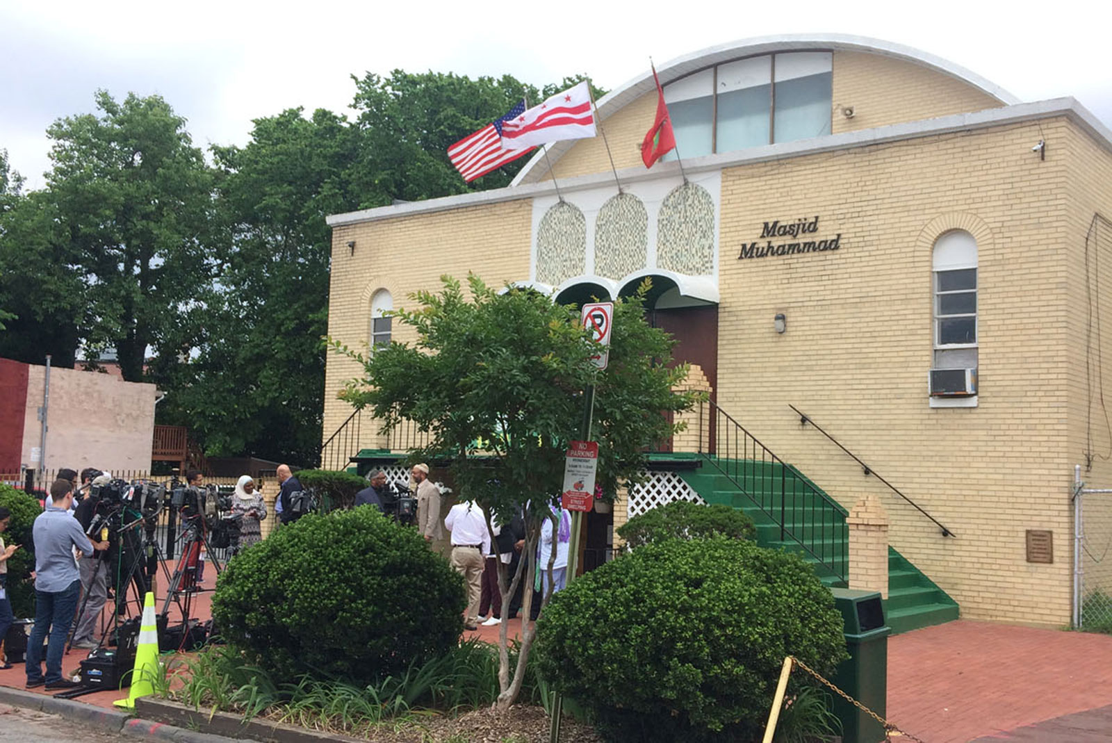 Muslim leaders at DC mosque remember Muhammad Ali