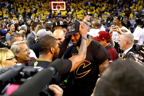 LeBron ends Cleveland's title drought in thrilling Game 7