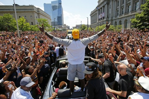 Covering the bases: Cleveland is king