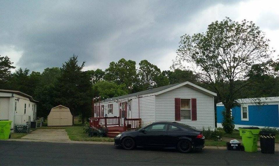 Clouds in Manassas, Virginia on June 21, 2016. (Courtesy Janine M. Chrysler)