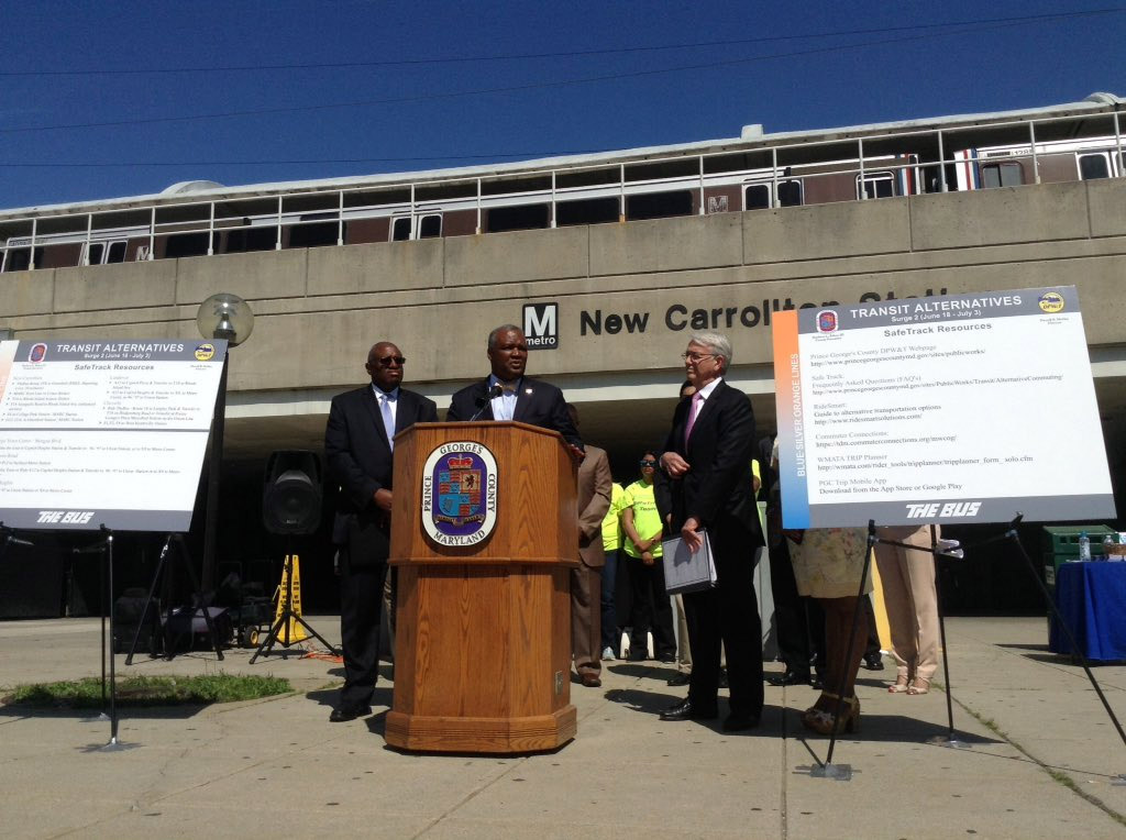 Pr. George's Co. announces Metro shutdown workarounds