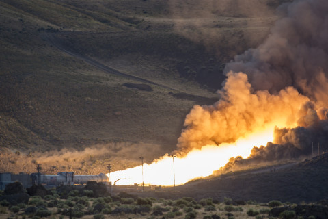 Mission to Mars: Test success for the rocket that will launch them