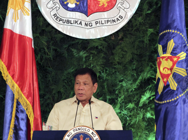 'I'll kill criminals' Duterte sworn in as Philippines president