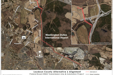 Dominion, Loudoun agree to power line path, negotiations continue