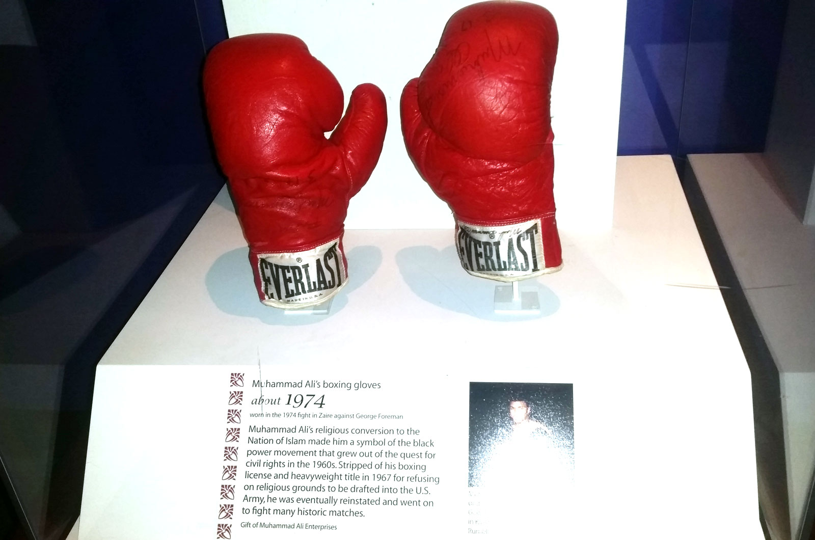 Mistake at Smithsonian's Muhammad Ali exhibit comes to light after boxer's death