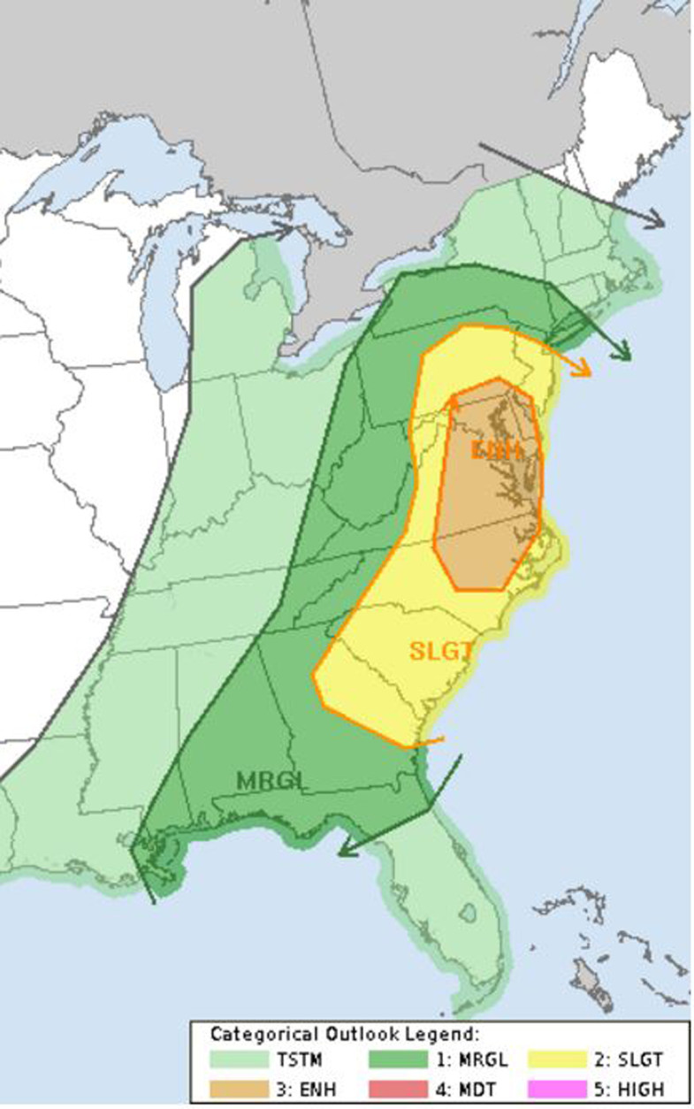 Weekend forecast: Prepare for severe weather Sunday   WTOP