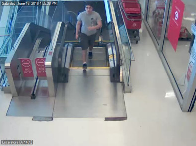 The man police say inappropriately touched an 11-year-old girl in a Target on District Avenue Saturday. (Courtesy of the Fairfax County Police Department)