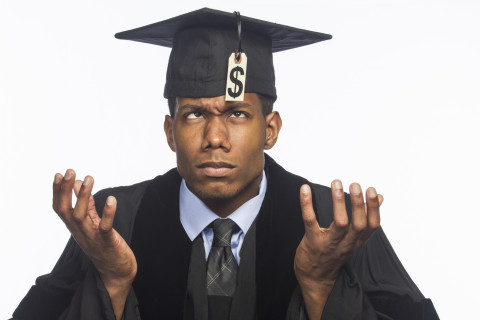 Colleges where students acquire the most debt