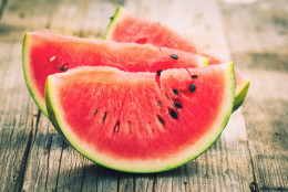 In case you need more reasons to serve up this sweet and juicy summertime favorite at your next BBQ, here are 10 surprising facts about watermelon. (Getty Images)