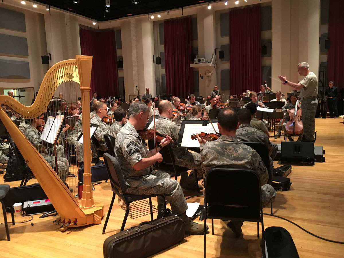 Music with a mission: Air Force Band celebrates 75 years