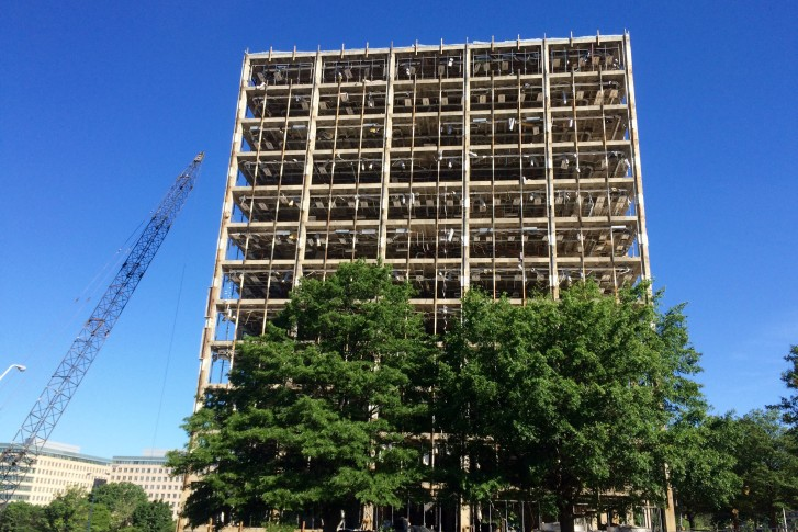 Wrecking Ball Building : Wrecking ball coming to story building in tysons wtop