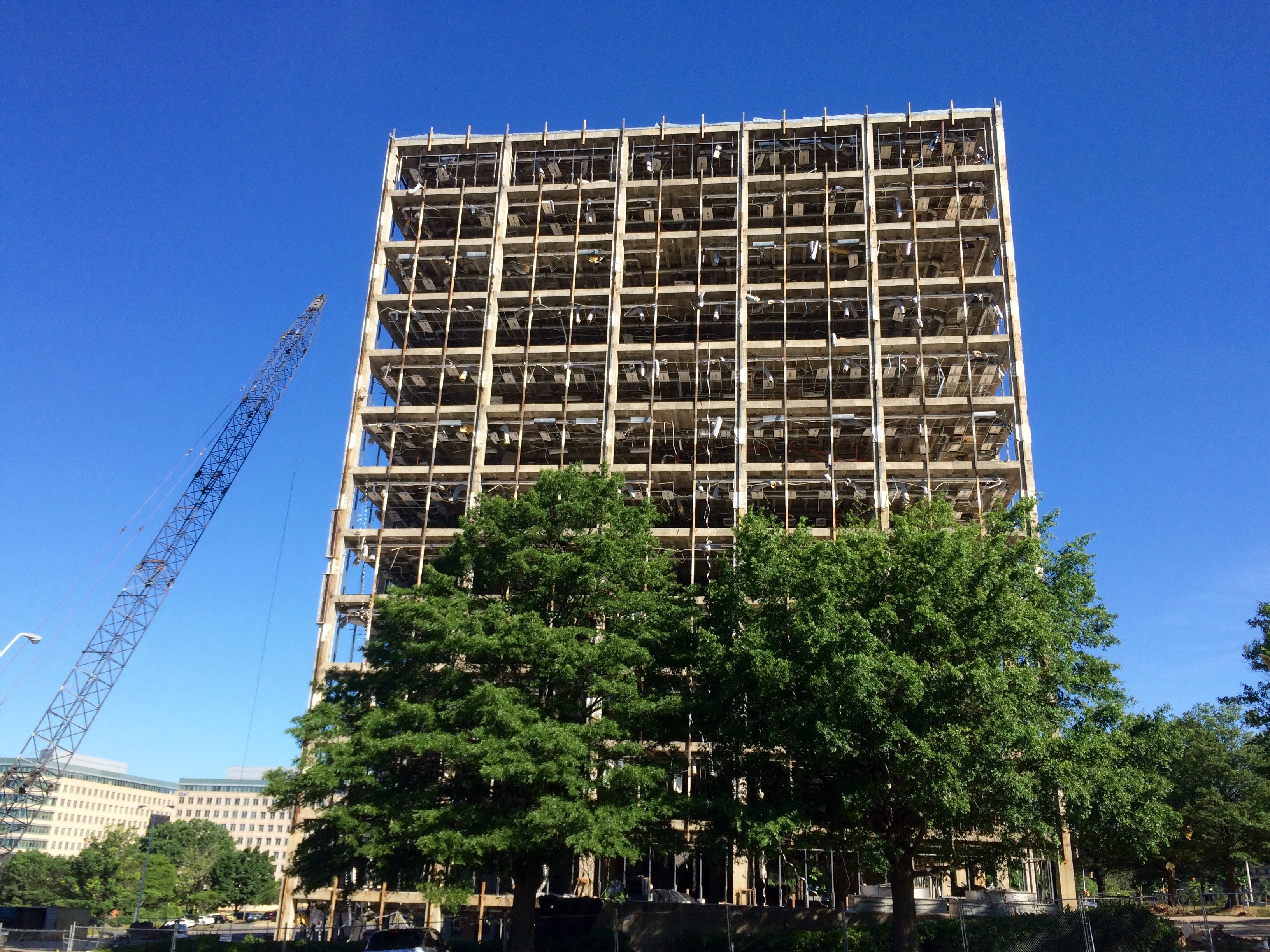 Wrecking ball coming to 13-story building in Tysons