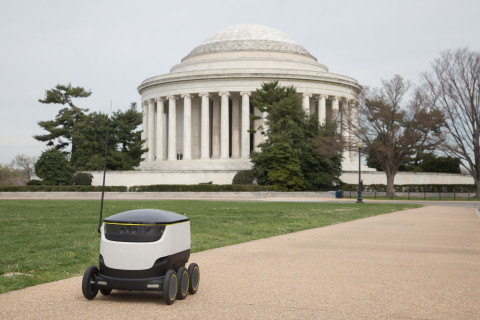 Package-delivering robots to hit DC streets soon