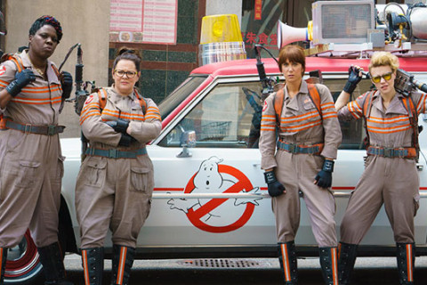"Hear the new, updated ""Ghostbusters"" theme"