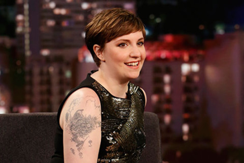 Lena Dunham rips Kanye West's 'Famous' video