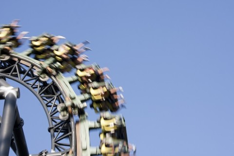Eight people rescued from stalled roller coaster 100 feet up in Oklahoma City