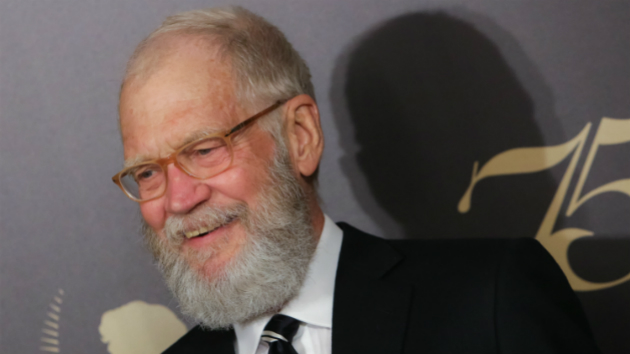 Letterman 'couldn't care less' about late-night TV; Wanted a woman for 'Late Show'